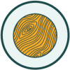 Icon representing raw wood products